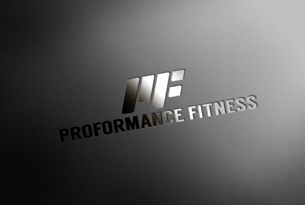 Fitness Brand Logo Concept